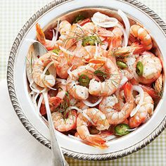 Pickled Shrimp with Fennel - another recipe from our new cookbook CHARLESTON KITCHEN, selected for Southern Living's guide to porch partyin'.