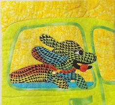 """""""In The Moment"""" by Deb Sorem as seen at Fiber Explorations"""