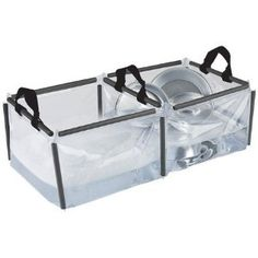 double sink to wash dishes with! Amazon sells it for around $14.00 a must have it collapses, super portable camp stuff, doubl sink, doubl wash, wash dish, camping must haves, camping sink, camping dish washing, wash basin, camping gear