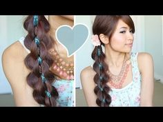 Thumbs up if you likey :) ♥ How to: Intricate 5 Strand Braid   ♥ Learn how to do more cute hairstyles: http://www.youtube.com/playlist?list=PLD4D5DE6CCCF00AF4    *Note: I changed the color of the center braid in the thumbnail to show you what it would look like if you replace the tiny braid with a blue ribbon. ^_^ cute, eh?    ♥ What I'm wearing:  Min...