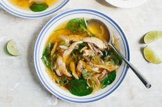 Spicy Chicken Soup - Bon Appétit