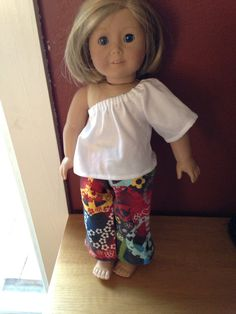 American Girl Doll Clothes  2 pc Everyday Basics by SewingSalvages, $8.00