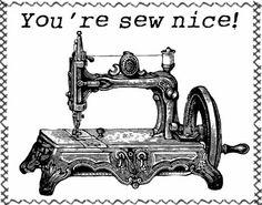 **FREE ViNTaGE DiGiTaL STaMPS**: FREE Digital Art Stamp - Vintage Sewing Machine