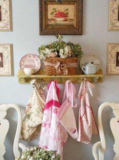 hanging aprons