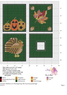 Autumn Holidays TBC pattern