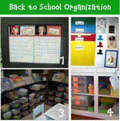 get organized for school