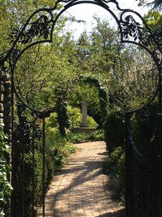 Beautiful gate at Dumbarton Oaks