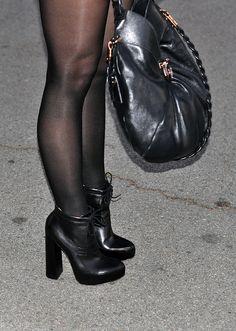 alexander wang boots and ferragamo bag+legs by ...love Maegan, via Flickr