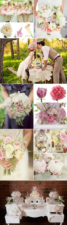 Revival Wedding Inspiration - 2014 Wedding Trends #WeddingTrends #2014WeddingTrends #WeddingFlowers #WholesaleFlowers