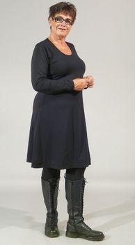 Bodycelli.nl Dè webshop voor grote maten dameskleding!::jurk::jurk basis tricot Exelle