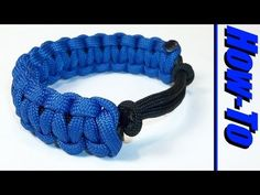 ▶ Adjustable Paracord Bracelet - YouTube