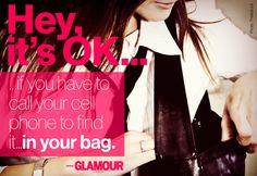 Glamour mag- Hey it's okay!