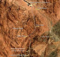 Mount Sinai (and the Peak of Mount Musa or Mousa).