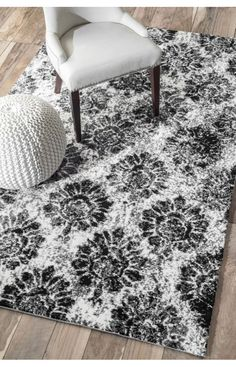 Rugs USA Serendipity 5116 Black Rug. Rugs USA $99 Sale! Area rug, rug, carpet, design, style, home decor, interior design, pattern, trends, home, statement, fall,design, autumn, cozy, sale, discount, interiors, house, free shipping, Halloween, fall decorations, fall crafts, fall décor, great winter, winter, warm, furniture, chair, art.