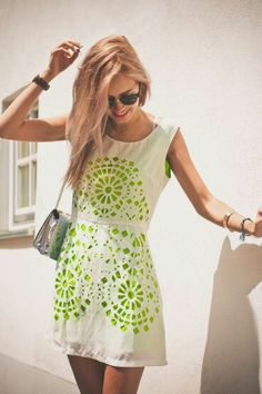 { neon accents }
