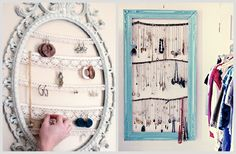 Organizador bijuterias Molduras