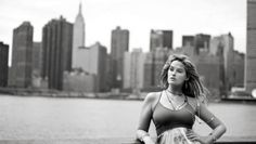 NYC NYC NYC NYC NYC NYC NYC   Whitney Thompson wearing our Diana Warner layering necklace!