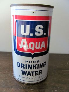 Cold War Water Can