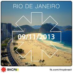 RHCP no Rio de Janeiro no dia 09 de novembro de 2013