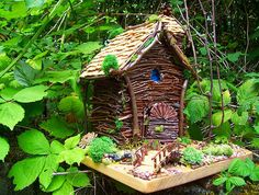 Glowing Faerie Gnome House The Magical Faerie House No words needed it's Fairy :)  (Robin)