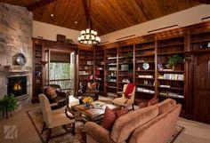 03 - Park City, Utah Residence traditional family room