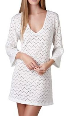 Chevron patterned cover up - take an extra 50% off with code:  SUMMERFUN  http://rstyle.me/n/ktxcdnyg6