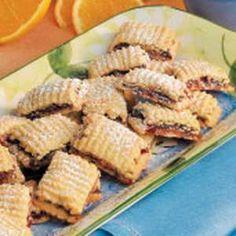Fruit-Filled Spritz Cookies Recipe