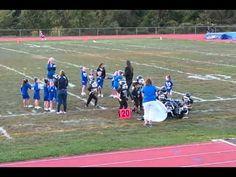 Wallkill Mighty Mites Crash Into Banner.