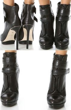 BCBG booties!!! WANT!!!! These shoes are sex,