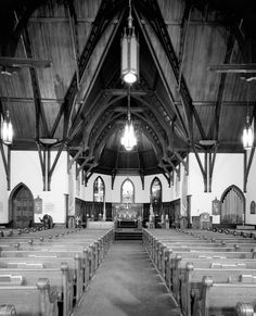 St. James Episcopal Church in Baton Rouge is said to be haunted by a wounded Union solider and a friendly elderly woman