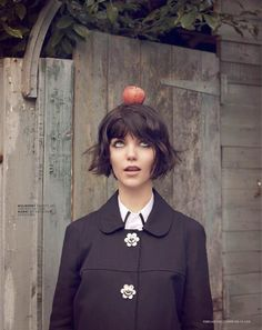 Adorable Blunt Bob with Bangs