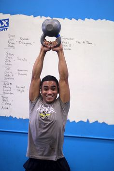 It's amazing what a smile can do in the midst of a WOD #crossfit #lax