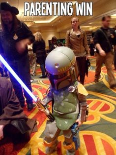 lights, parents, star war, pew pew, boba fett, children, kids, parent win, parenting win