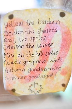 Celebrate ~ Autumn ~ Verse ~ Song here ~ http://www.youtube.com/watch?v=9NBRm7mSu4M=relmfu