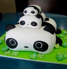 Tare Panda Cake  by ~KralleCakes  Artisan Crafts / Culinary Arts / Food Art©2009-2012 ~KralleCakes