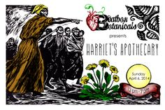 Family come join us for the 1st Inaugural event of BeatBox Botanicals, Harriet's Apothecary, a village of Black Women, Queer and trans healers coming together to nurture and cultivate your body's intuitive wisdom. Come receive sliding scale, body affirming, love-drenched potions, prescriptions, and customized services …to restore and expand your body's abilities to heal and to love. - See more at: https://www.facebook.com/events/440047986128870/#sthash.5guvKMqw.dpuf