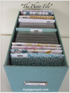 How to store your photo CDs in a gorgeous way!