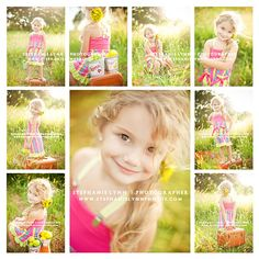 Grid Layout inspiration!  Love these photos but the LO of the pics would make for a quick and easy scrapbook page =)