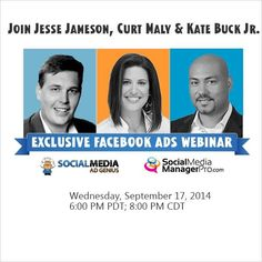 Social media ad genius, curt maly & KBJ -- in the house tomorrow! --> http://gowoa.me/i/M6r