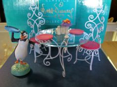 WDCC Walt Disney Classics Collection Table and Chairs Accessory Mary Poppins | eBay