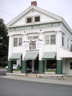 Powers Market North Bennington, Vermont. #Vermont #North Bennington