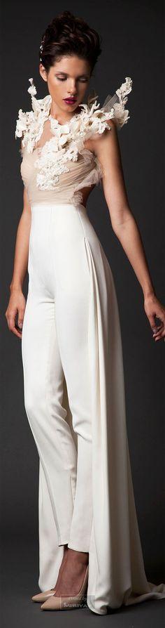 Glamour Gown....Krikor Jabotian Fall-winter 2014-2015.