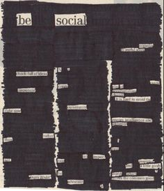 Poetry lesson idea: blackout poetry using old newspapers!