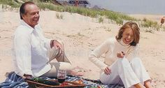 Jack & Diane ~ picnicing on the beach ~ <3