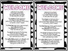 meet the teacher goody bags