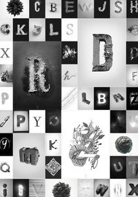 Amplifying The Typography Experience, P by Junjie Lim, via Behance