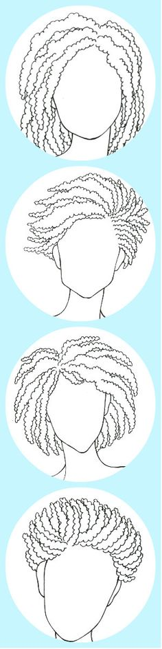 The Fail-Safe, Un-Screw-Up-Able, Take-This-to-The Salon Guide to Your Perfect Haircut || Your best look depends on your hair texture and your face shape. Pin this, if you have kinky hair. (Double-click for exactly what to say to your stylist) fun hair, salon, perfect haircut, natur hair, failsaf, curly haircuts, awesom hair, hair textur, hair idea