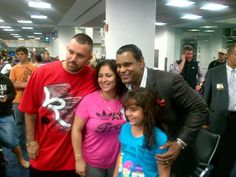 Fans at MIA. On my way to see my daughters at college. Jan 17, 2013