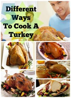 5 Different Ways To Cook A Turkey For Thanksgiving #turkey #thanksgiving #christmas