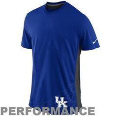 Nike Kentucky Wildcats Speed Legend Performance T-Shirt - Royal Blue